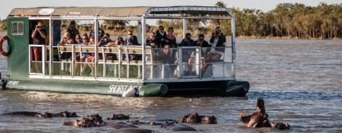 boat safari isimangaliso wetland park
