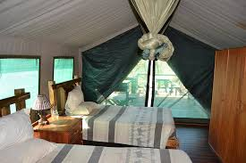 Mpila Camp 4 bed safari tents Umfolozi