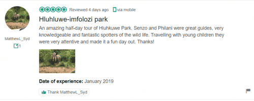 Hluhluwe Game Reserve Accommodation & Big 5 Safaris
